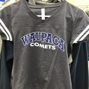 Waupaca Comets Ladies Ts